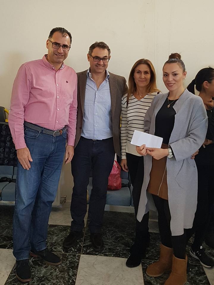 Charitable donation in Cyprus